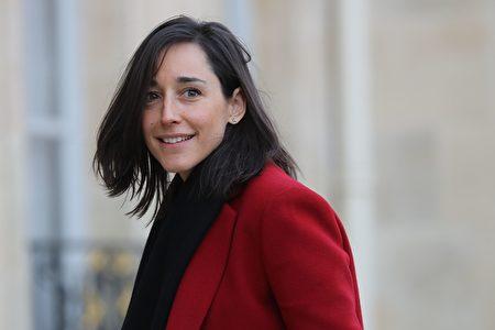 法國生態部長普瓦爾松(Brune Poirson)。(LUDOVIC MARIN/AFP via Getty Images)