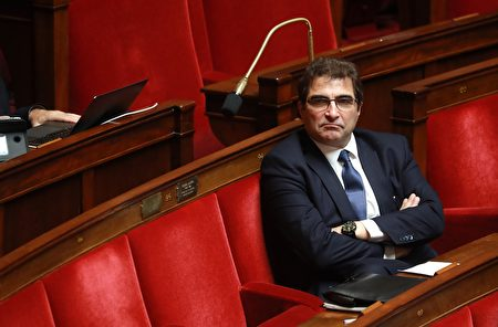 法國議員克里斯蒂安·雅各布(Christian Jacob)。(LUDOVIC MARIN/AFP via Getty Images)