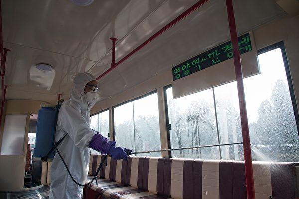 传朝鲜的中共肺炎疑似病患23人死亡