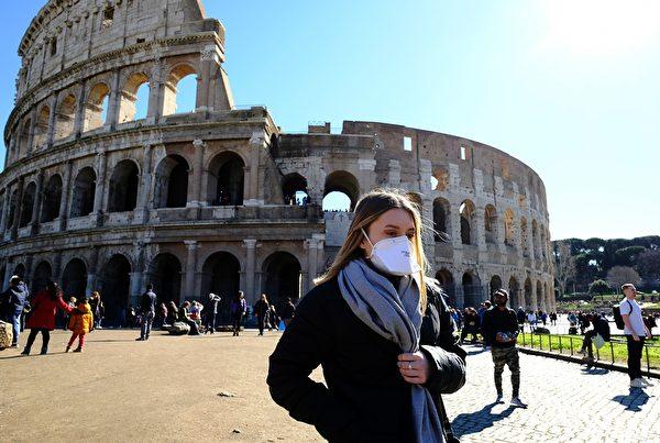 蔡宗宏認為,對於意大利或其它國家,對疫情應該有超前部署,不應讓它走到封城那一步。(ANDREAS SOLARO/Getty Images)