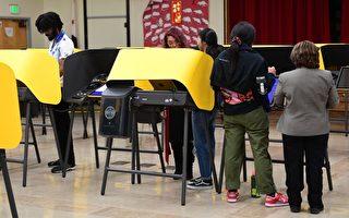 加州投票站消毒迎接百萬選民