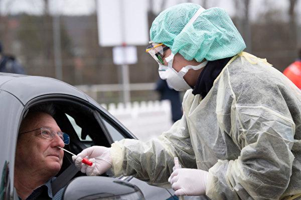 德國中共肺炎確診病例破千 首現死亡病例