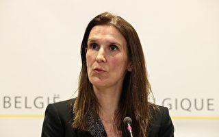 比利时总理苏菲·威尔梅斯(Sophie Wilmes)12日宣布,自当地时间周五(13日)午夜(14日0时)起关闭学校,咖啡厅、餐厅也须关闭或缩短营业时间。(BENOIT DOPPAGNE/Belga/AFP via Getty Images))