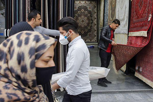 伊朗:每小时五十人染疫 每十分钟死一人