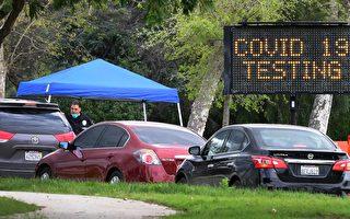測試速度跟不上 加州疫情全貌難現