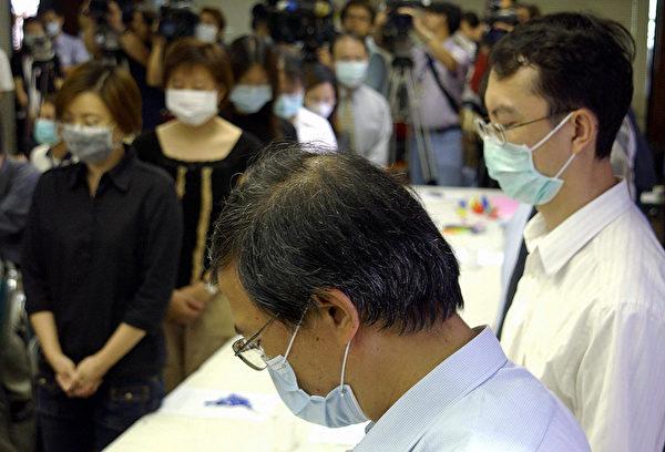 台湾在武汉肺炎防疫中能够领先,原因之一是经历SARS的惨痛后,学得的经验。 (SAM YEH/Getty Images)