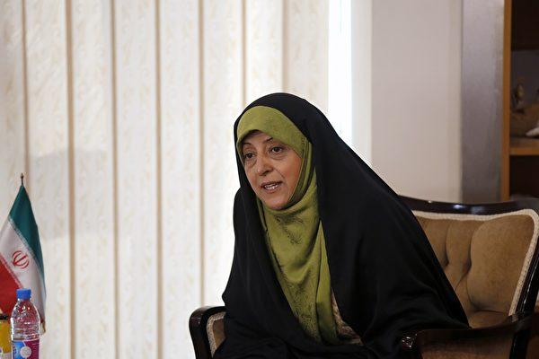2月27日,伊朗副總統馬蘇梅·埃布特卡(Masoumeh Ebtekar)已確診染疫。(ATTA KENARE/AFP via Getty Image)