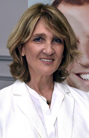 法國議員伊利沙伯·圖蒂-皮卡爾(Elisabeth Toutut-Picard)。(PASCAL PAVANI/AFP via Getty Images)