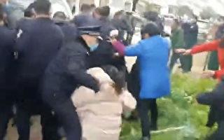湖南村民阻止建化學廠 爆警民衝突
