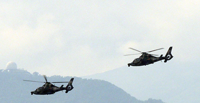 中共駐港部隊直升機失事 死傷不明