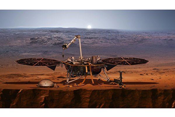 火星表面發現神秘午夜磁場脈衝