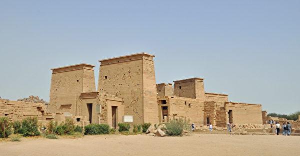 示意圖。圖為埃及菲萊神廟。(Marc Ryckaert/維基百科)