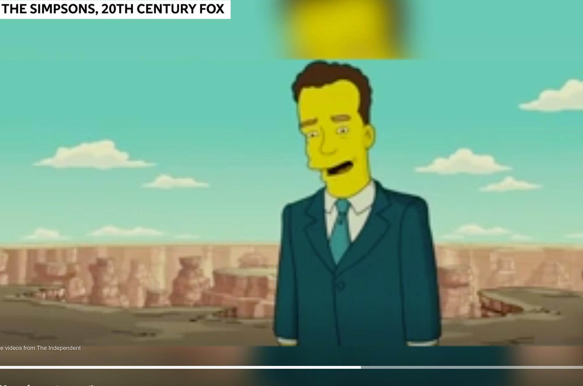 《辛普森一家》曾預測湯姆·漢克斯中招?