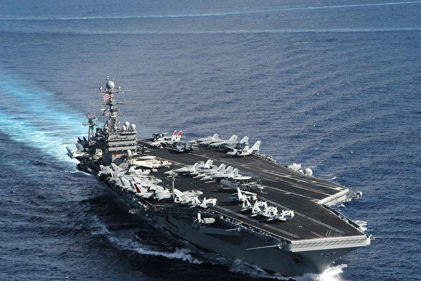 美國航母上軍人染疫 中共「甩鍋」謠言再起