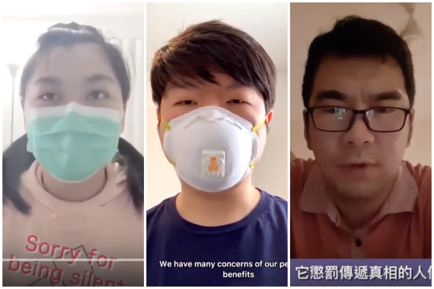 海外華人拒絕沉默 錄影片向中共追責