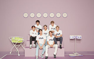 "BTS代言运动品牌 庆祝""七个人的第七年"""