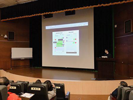 """多伦多大学蒙克全球事务学院的学者尼什哈达(Masashi Nishihata)周五(3月13日)于台大资工系发表""""中国社群媒体对于武汉肺炎病毒讯息管制的研究""""专题演讲。"""