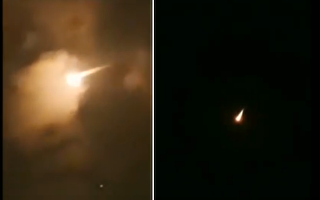 中共在海南文昌發射長征七號改中型運載火箭首次飛行失敗。(視頻截圖合成)