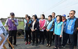 彰县长视察应急排水工程 预计今年10月底完工