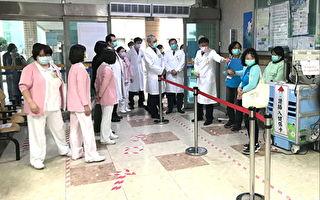 榮總桃園分院防疫措施再升級  管控滴水不漏