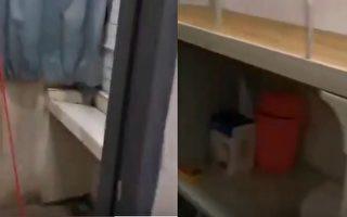 【现场视频】留学生回国被隔离在简陋宿舍