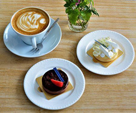 温柔柠檬塔和巧克力塔是法式甜点的精彩作品。