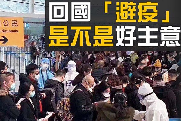 """【热点互动】海外华人回国""""避疫""""引热议"""