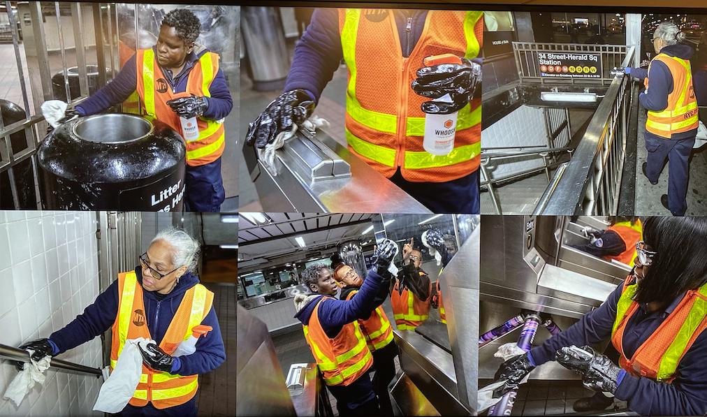 MTA每72小时消毒一次  当局说纽约地铁安全