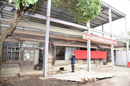 詹冰故事文学馆开工修复。