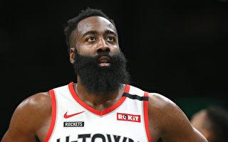 NBA哈登大三元无用 火箭吞3连败