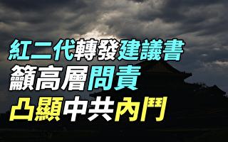 【纪元播报】红二代转发建议书吁高层问责