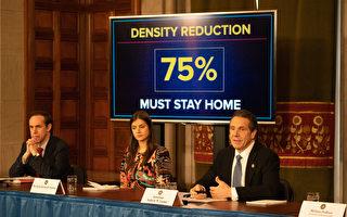 纽约州病例数破4千  强制要求企业75%员工在家