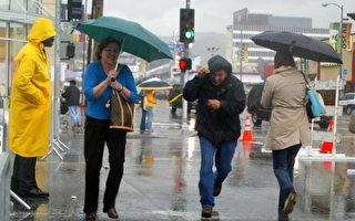 南加一夜大雨創紀錄 週三晚還一場