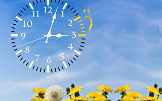 美加週日進入夏令時 勿忘將時鐘撥快1小時