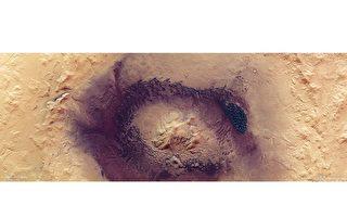 最新照片:火星疯狂环境造就黑暗沙丘