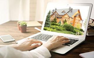 房地产网站流量增加