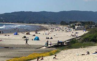 疫情下人们周末仍聚集    加州马林县关闭所有公园