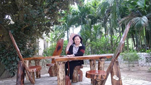 家住武漢的中國作家方方 ©二湘的七維空間(網絡圖片)