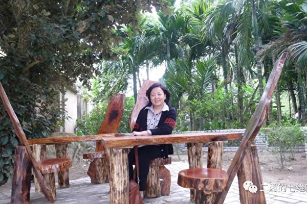 家住武漢的中國作家方方。(網絡圖片)