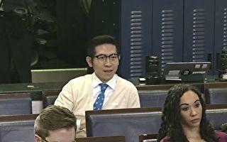中共官媒记者称来自台湾 川普:马上处理掉他!