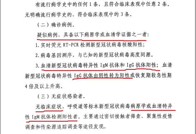 《黑龍江省新型冠狀病毒感染的肺炎病例確認程序(第三版)》截圖(大紀元)