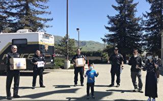 硅谷苗必达华裔社区 向一线人员捐助防护用品