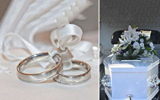 在告别式上举行婚礼 男为亡妻唱《童话》惹哭亲友