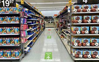 所有沃爾瑪超市內將實施單行道購物