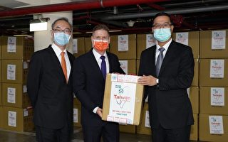 台灣贈50萬片口罩 運抵加拿大