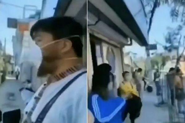 【现场视频】传尼泊尔华人要回国 中共大使馆拒绝