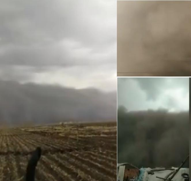 【現場影片】白城瞬間變黑城 吉林遭沙塵暴侵襲