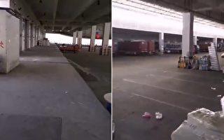 【現場視頻】義烏港無人煙 網民:外貿世界末日