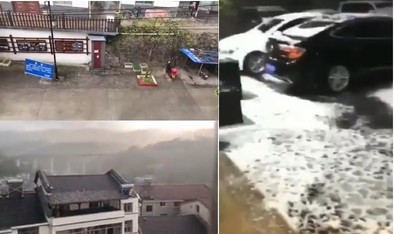 【現場影片】湖北宜昌、四川攀枝花下大冰雹