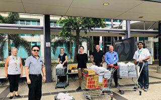 疫情下 澳洲布市华人免费为医护人员送餐